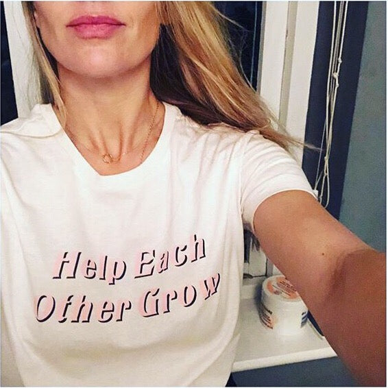 Help Each Other Grow // limited edition tee