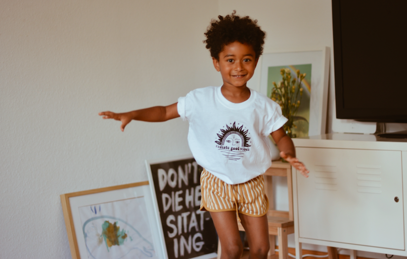 Radiate Good Vibes (kids tee)