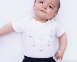 Load image into Gallery viewer, Anchor Me // organic babygrow