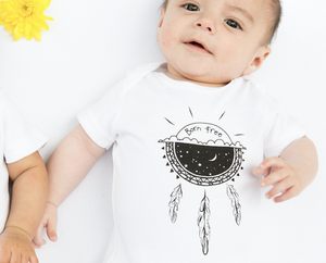 Load image into Gallery viewer, Born Free // organic babygrow