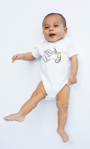 Load image into Gallery viewer, Unicorn Star // organic babygrow