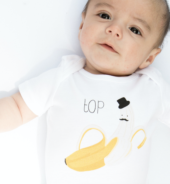 Load image into Gallery viewer, Top Banana // organic babygrow
