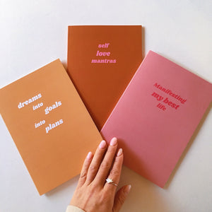 Daily Greatness Notebook Trio