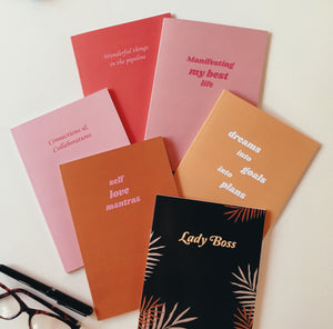 Lady Boss Notebook Trio