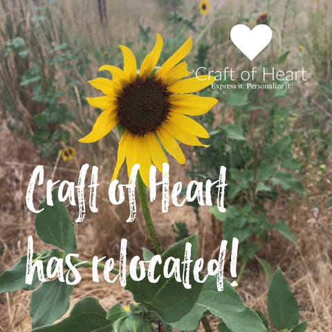 Craft of Heart has relocated!