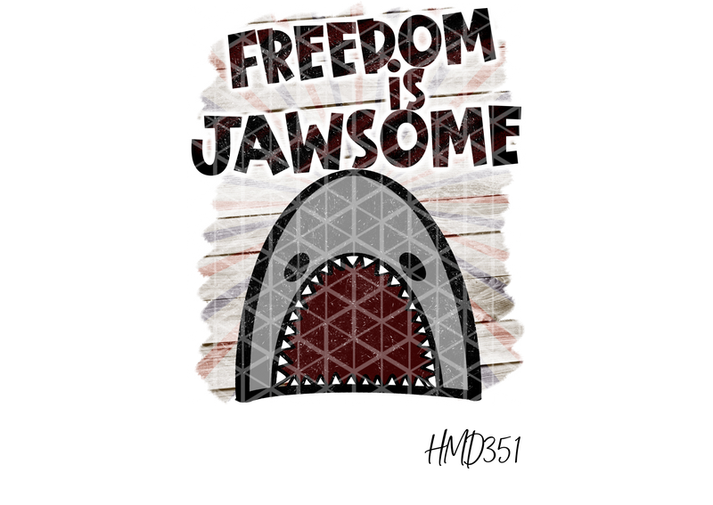 Freedom Is Jawsome TRANSFER (PHYSICAL) - Craft of Heart
