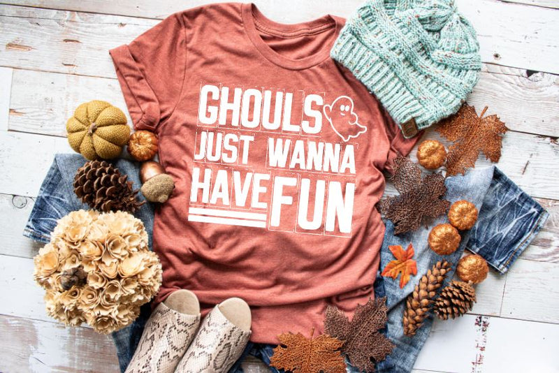 Ghouls Just Wanna Have Fun - Youth Shirt