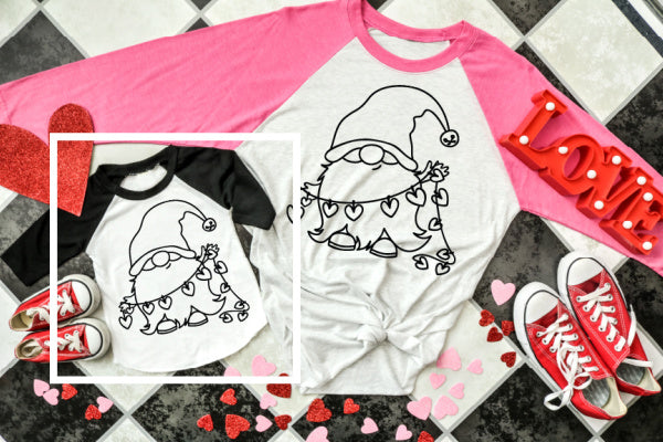 Mommy & Me Gnome Coloring Shirt