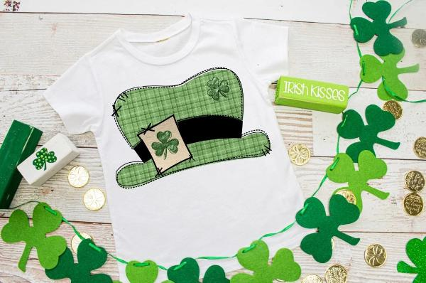 Leprechaun Hat Youth Shirt