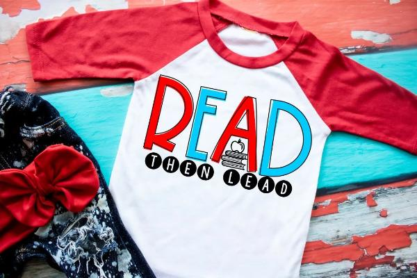 Read Then Lead Youth Shirt