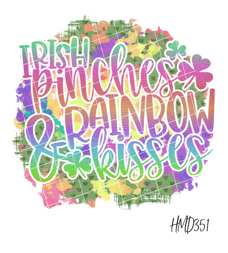 Irish Pinches & Rainbow Kisses TRANSFER (PHYSICAL)