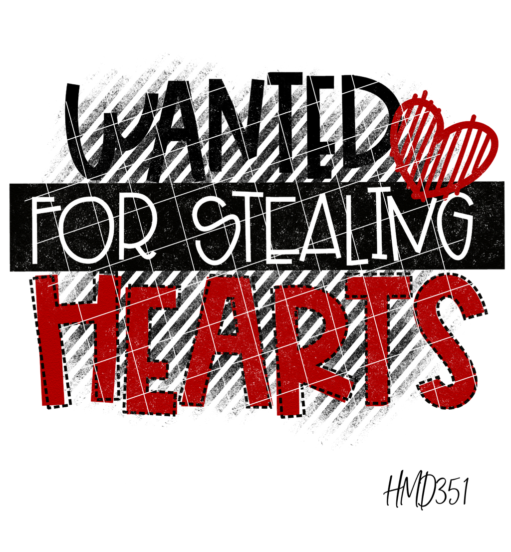 Wanted For Stealing Hearts TRANSFER (PHYSICAL)
