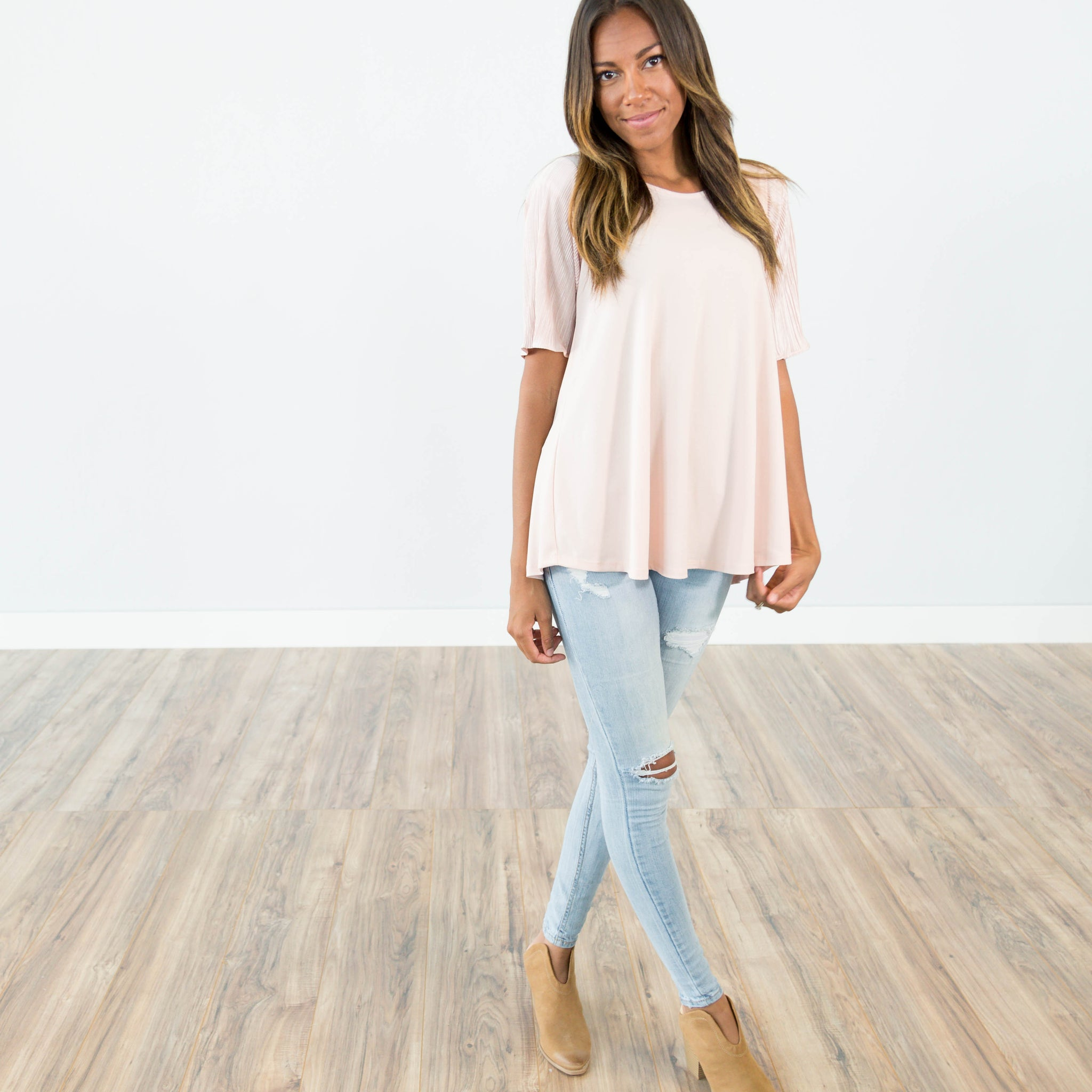 Rory Blush Top