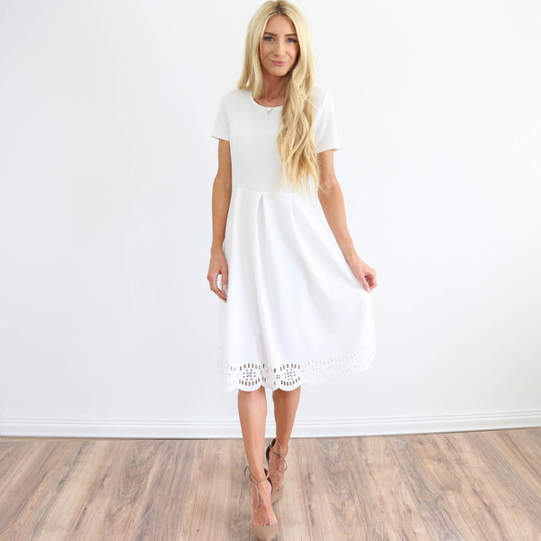 Catalina Dress in Ivory
