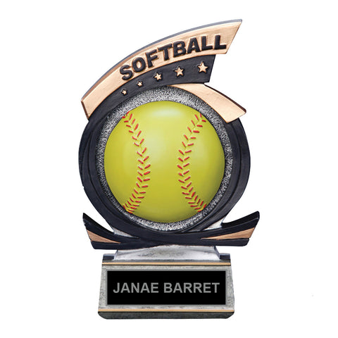360 Softball Trophy