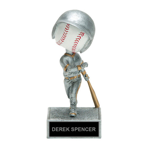 Batting Bobble Head Baseball Trophy