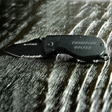 Black Anodized Pocket Knife