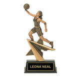 Layup Basketball Trophy