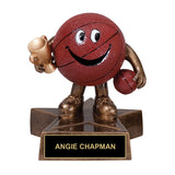 Cartoon Basketball Trophy