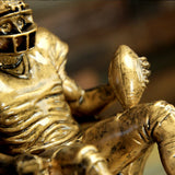 Golden Armchair Quarterback Fantasy Football Trophy