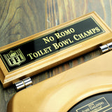 Toilet Bowl Champions Plaque
