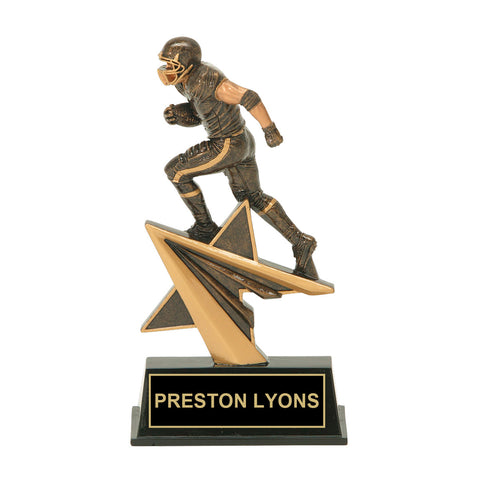 Running Back Football Trophy