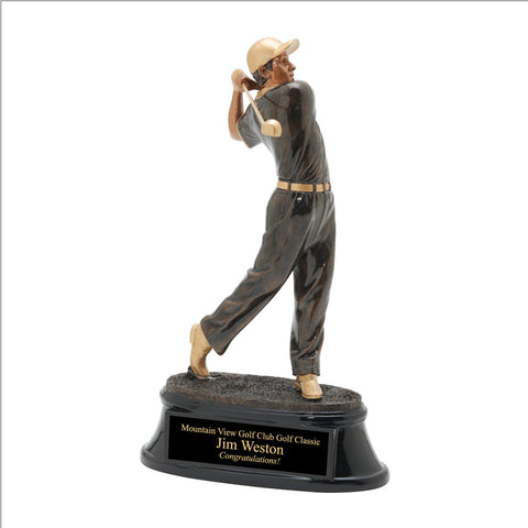Solid Hit Golf Trophy