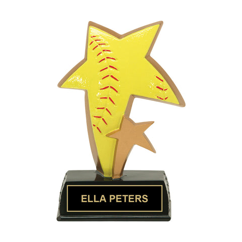 Super Star Softball Trophy