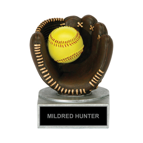 Winning Catch Softball Trophy