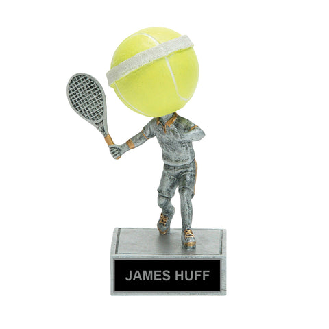 Tennis Bobble Head Trophy