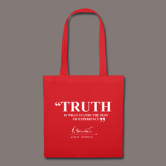 Einstein Truth Quote Tote