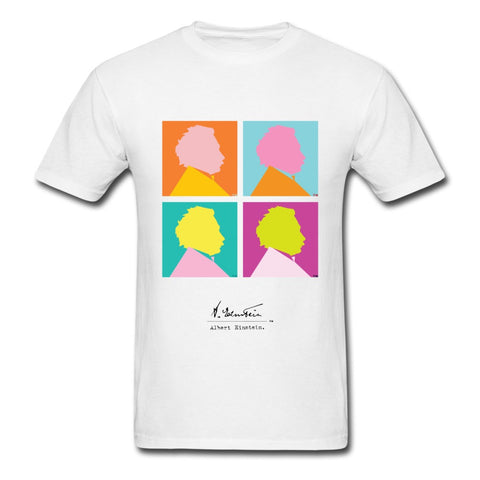 Einstein Pop Art T-Shirt