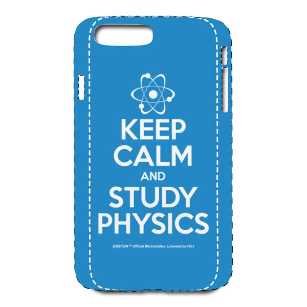 Keep Calm Blue iPhone 7 Plus Case