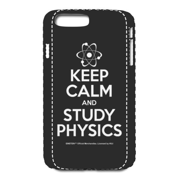 Keep Calm Black iPhone 7 Plus Case