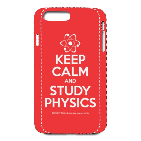 Keep Calm Red iPhone 7 Plus Case