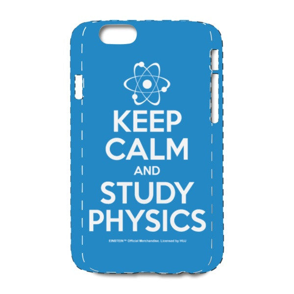 Keep Calm Blue iPhone 6/6s Case