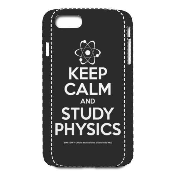 Keep Calm Black iPhone 7 Case