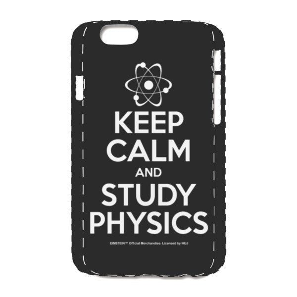 Keep Calm Black iPhone 6/6s Case
