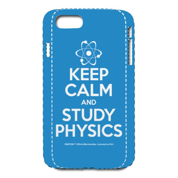 Keep Calm Blue iPhone 7 Case
