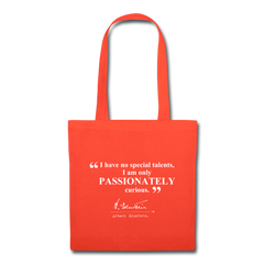 Einstein Passion Quote Tote