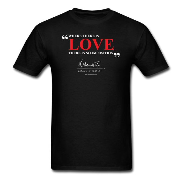 Albert Einstein Love Quote Tee