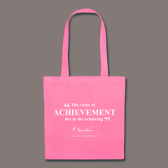 Einstein Achievement Quote Tote