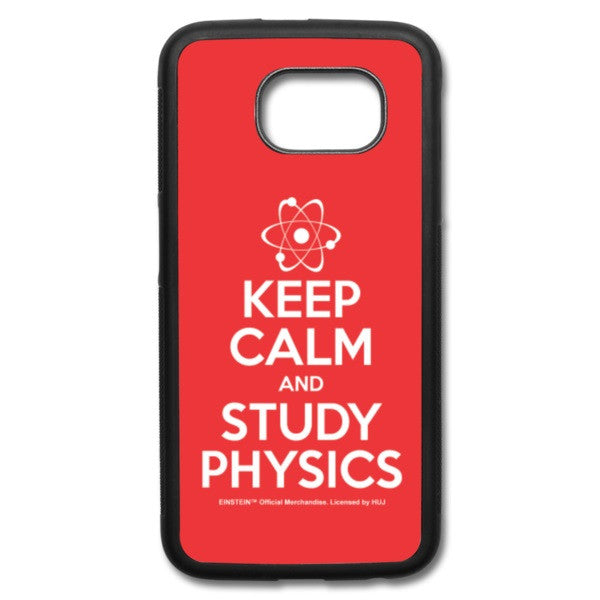 Keep Calm Galaxy S6 Case - RED