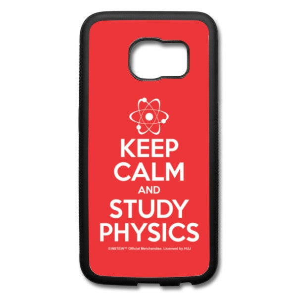 Keep Calm Galaxy S6 Edge Case - RED