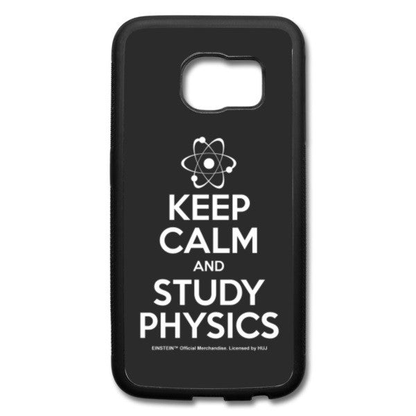Keep Calm Galaxy S6 Edge Case - BLACK