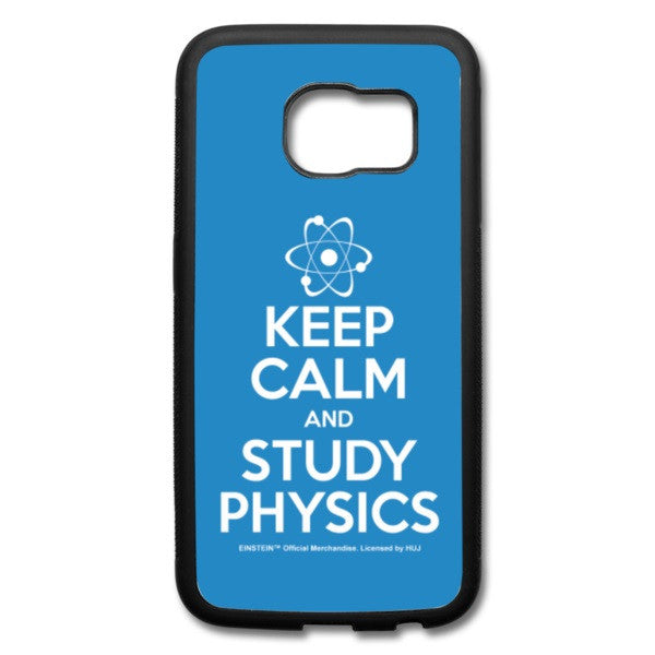Keep Calm Galaxy S6 Edge Case - BLUE