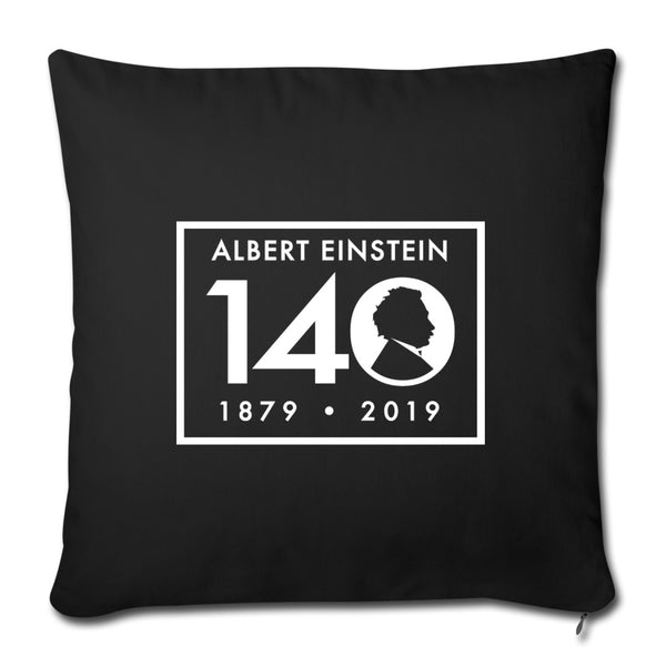 Einstein 140th Birthday Throw Pillow Cover