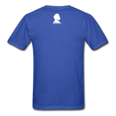Einstein Portrait Tee - royal blue