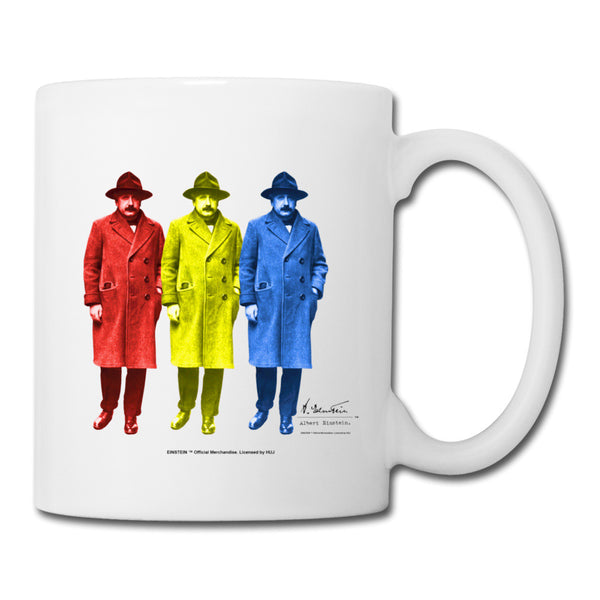 Einstein Pop Art Mug