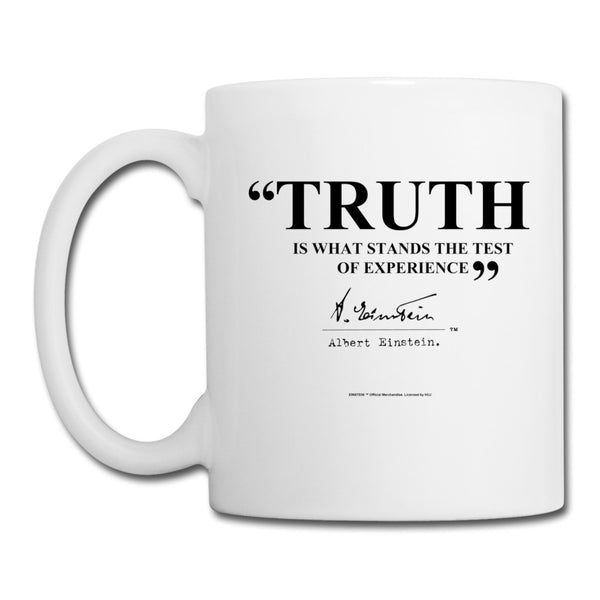 Einstein Truth Quote Mug